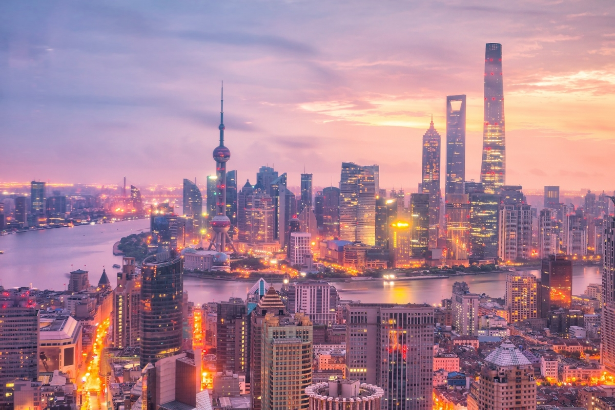 Thượng Hải vươn mình trở thành thủ đô kinh tế của Trung Quốc nhờ cảng biển.