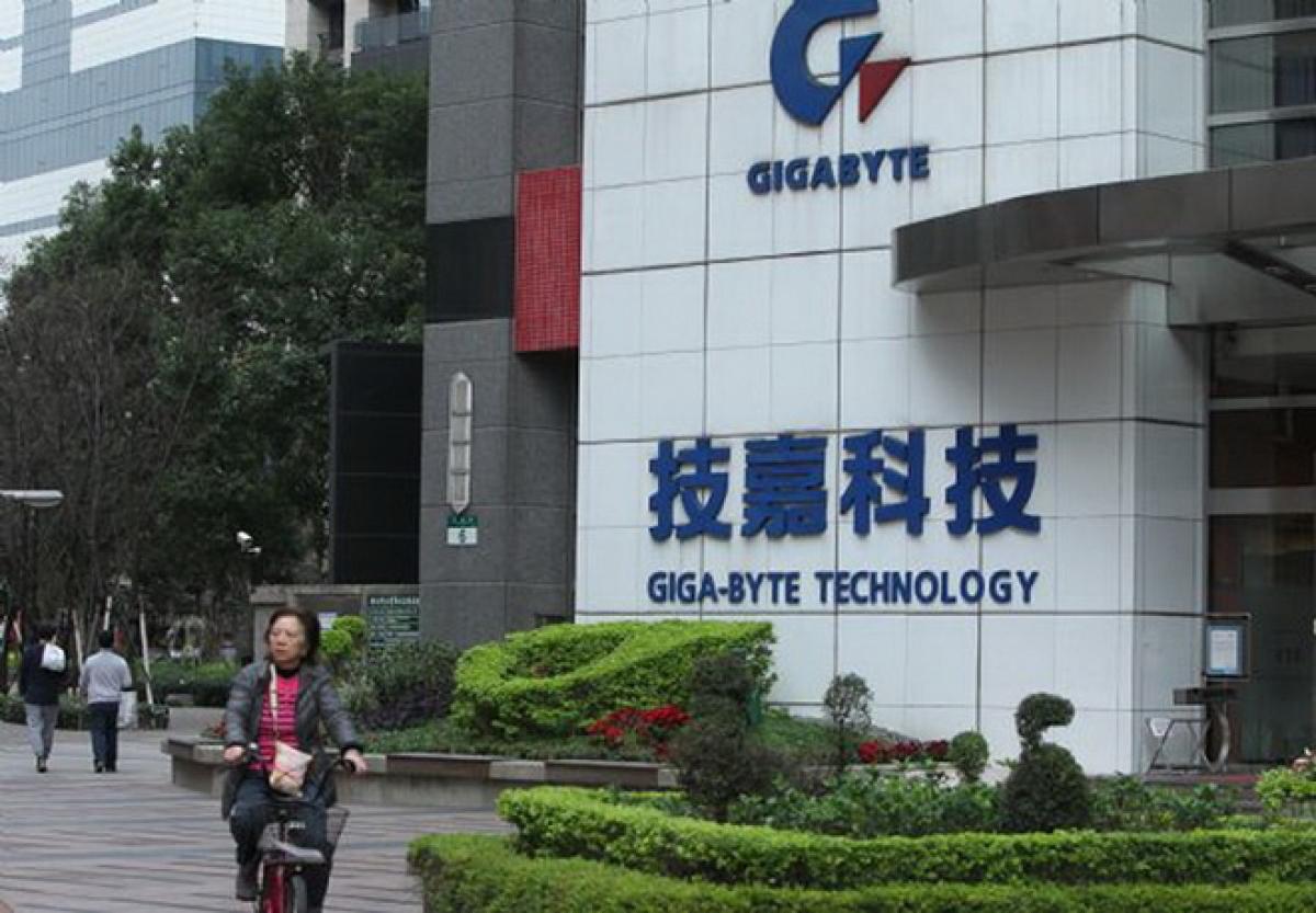 Cổ phiếu Gigabyte đã sụt giảm mạnh vì bị cộng đồng mạng Trung Quốc tẩy chay.