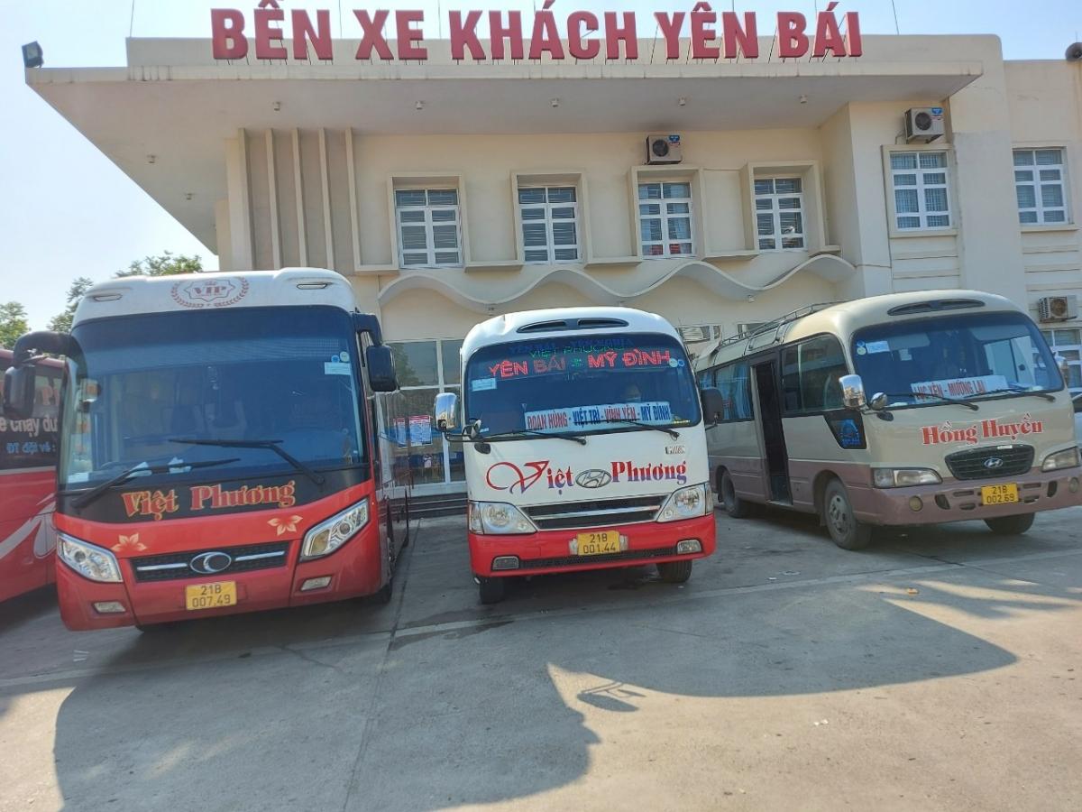 Các nhà xe Yên Bái tuân thủ các biện pháp phòng chống dịch Covid-19