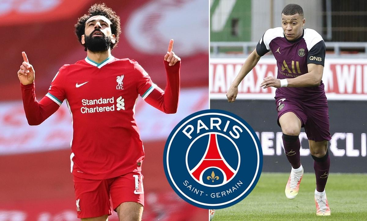 Theo báo chí Pháp, PSG sẽ chiêu mộ Salah nếu để mất Mbappe