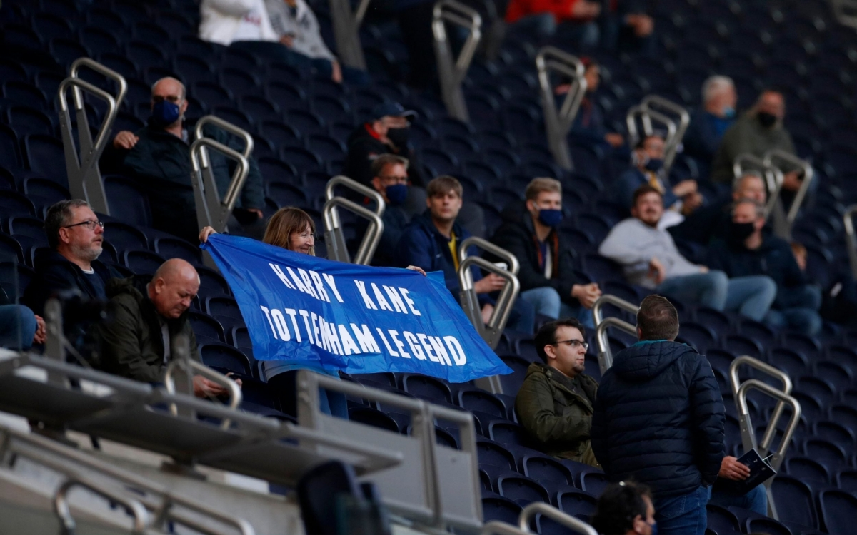 Harry Kane là huyền thoại của Tottenham