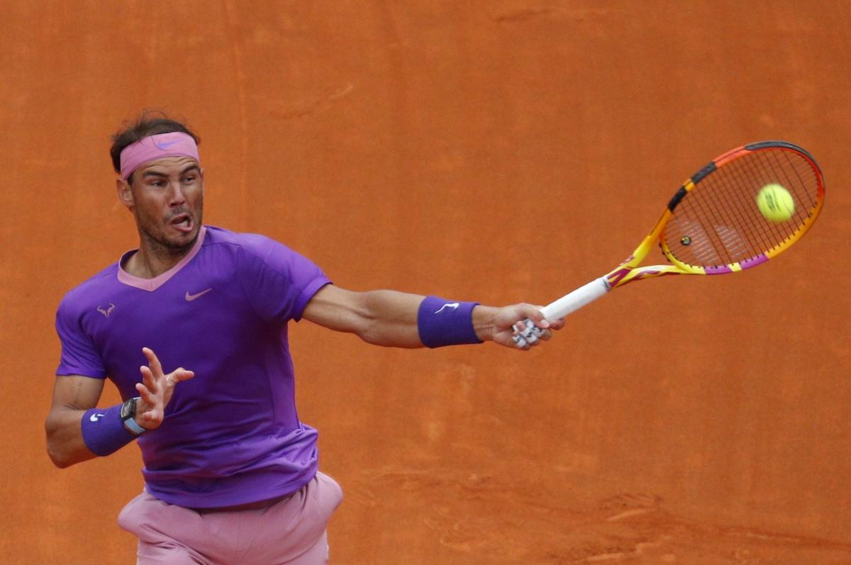 Dù vậy, Nadal cũng chứng tỏ đẳng cấp với break ở game ngay sau đó để gỡ hòa 2-2.