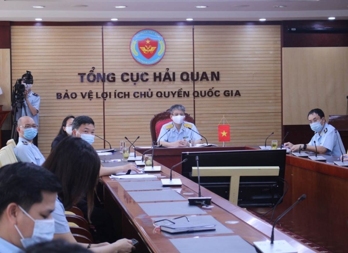 Phó Tổng cục trưởng Mai Xuân Thành chủ trì Hội thảo tại trụ sở Tổng cục Hải quan Việt Nam. (Ảnh: Báo Hải quan)
