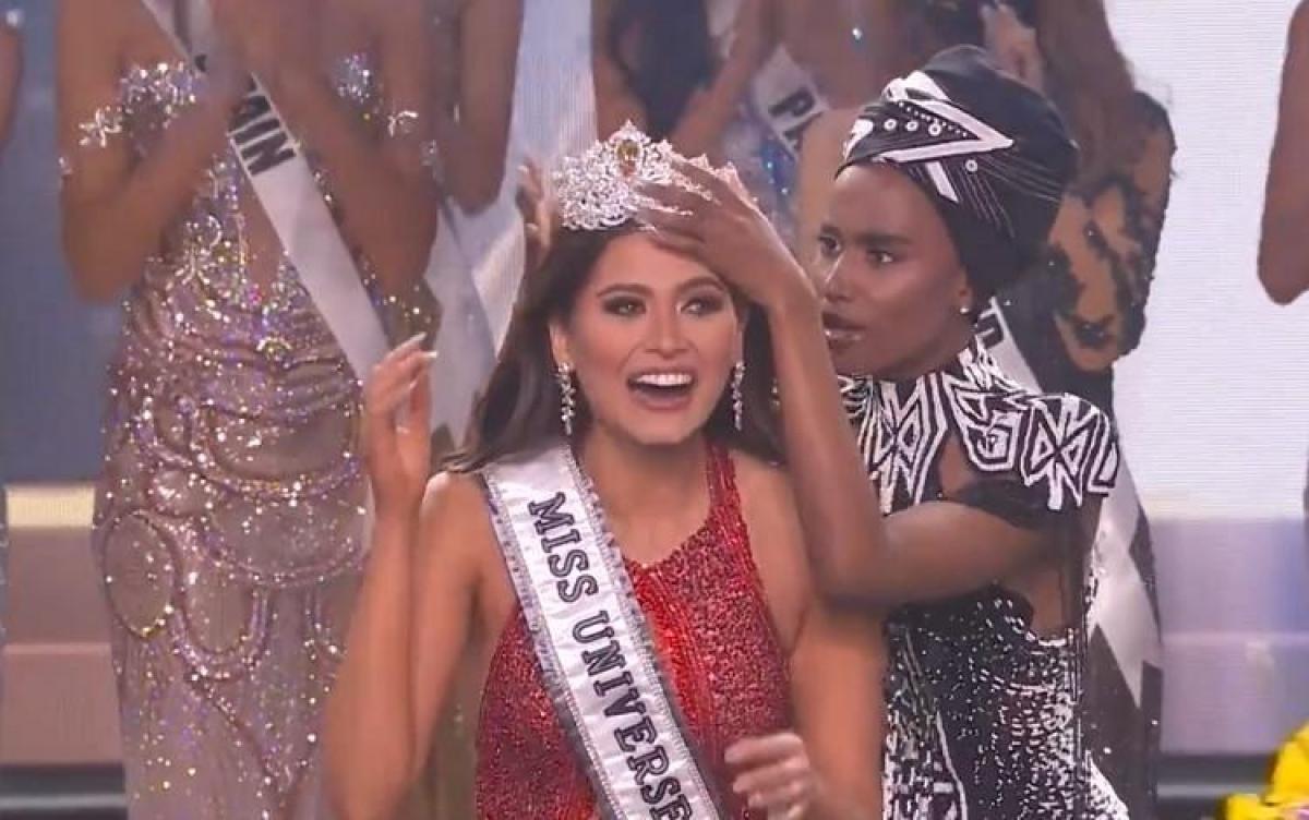 Hoa hậu Mexico đăng quang Miss Universe