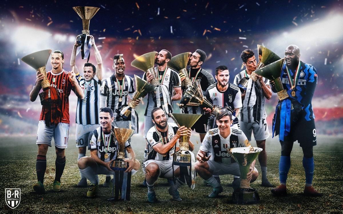 11 chức vô địch Serie A gần nhất.