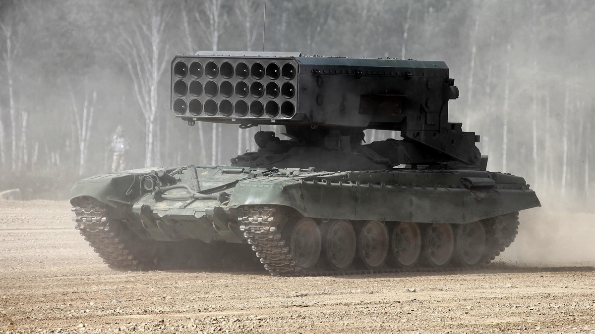 Hệ thống TOS-1A.