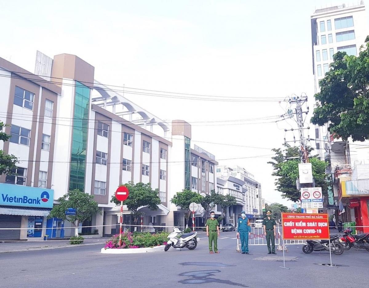 Một khu phong tỏa cứng ở Đà Nẵng