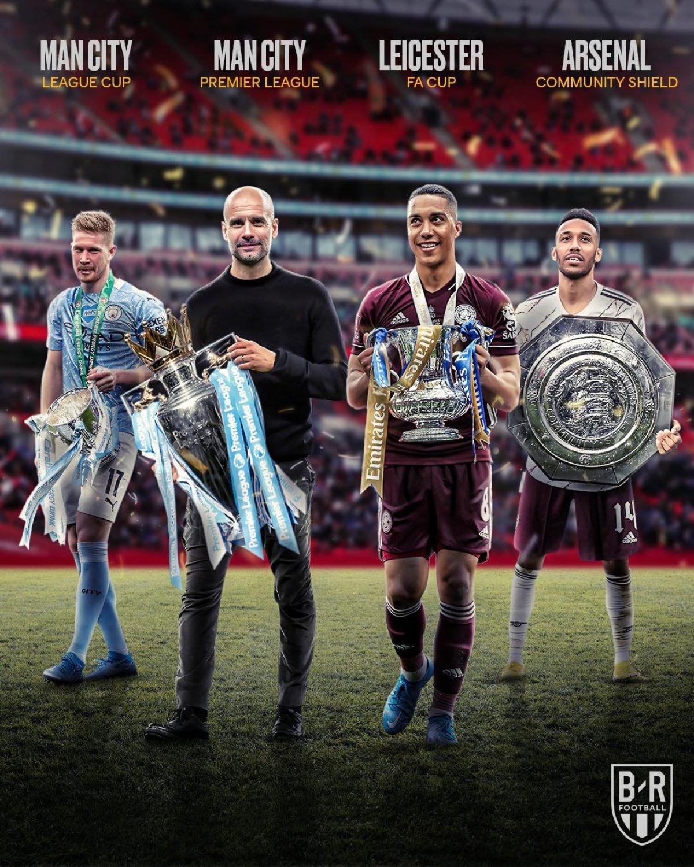 Những danh hiệu của bóng đá Anh đã tìm được chủ nhân.