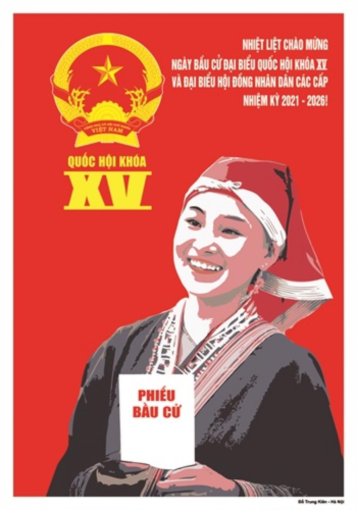 Giải Nhì, tác giả Đỗ Trung Kiên, Hà Nội.