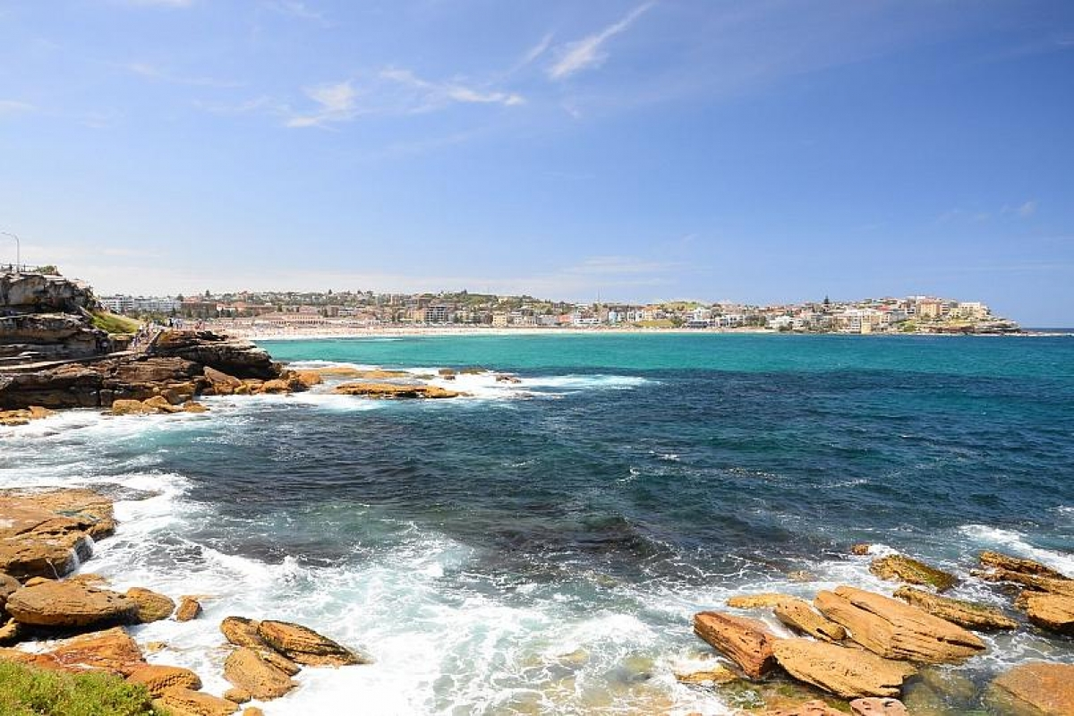 Bãi biển Bondi ở Australia. Nguồn: Getty
