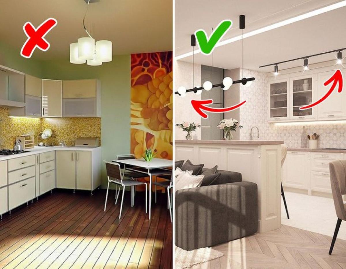Hãy chú ý đến việc thiết kế ánh sáng bởi chúng có thể mang lại ấn tượng lạnh lẽo hoặc ấm áp khi bước vào căn phòng, đồng thời ánh sáng cũng giúp phân cách không gian./.