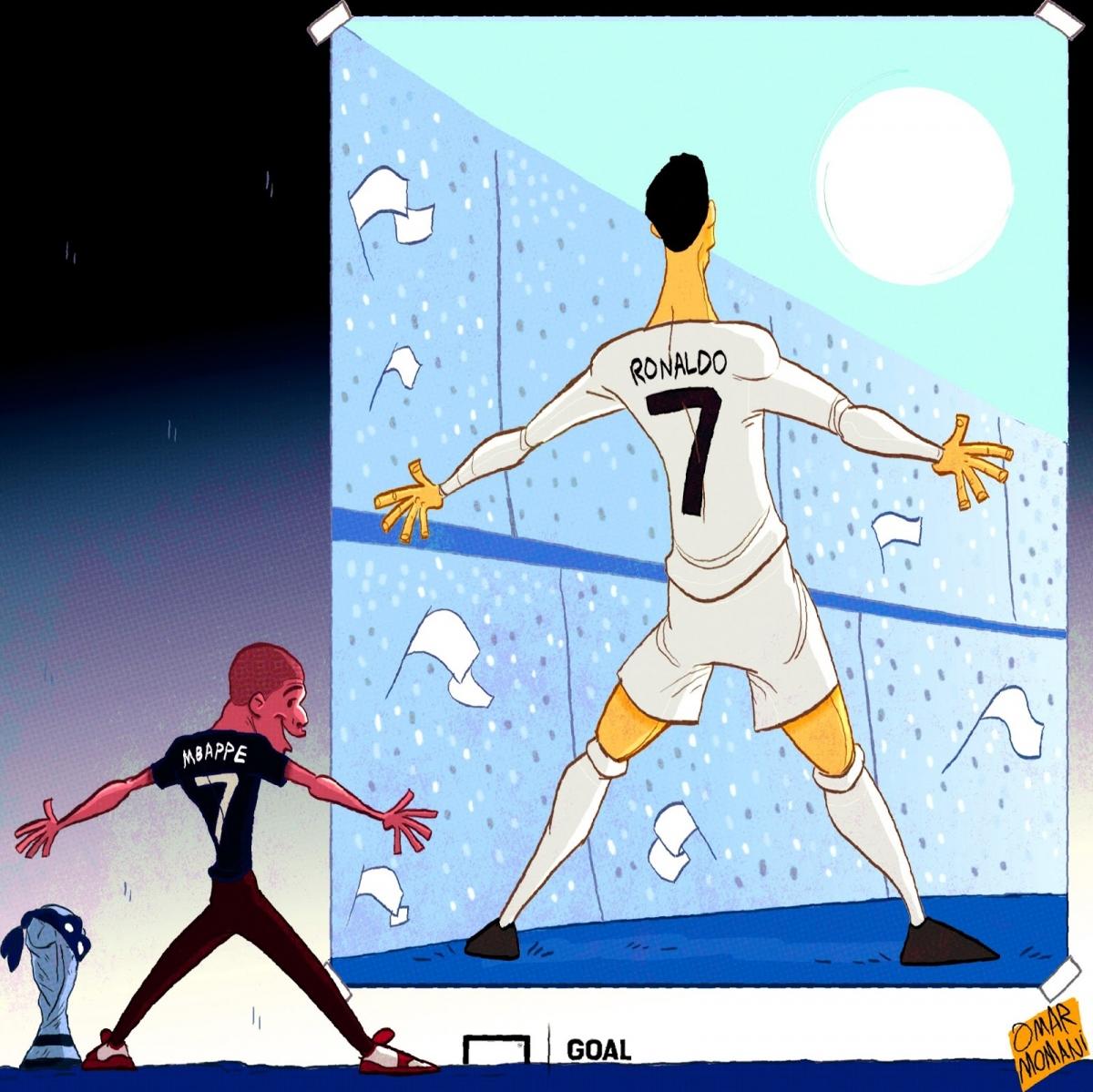 Mbappe được đồn đoán sẽ đến Real Madrid./.