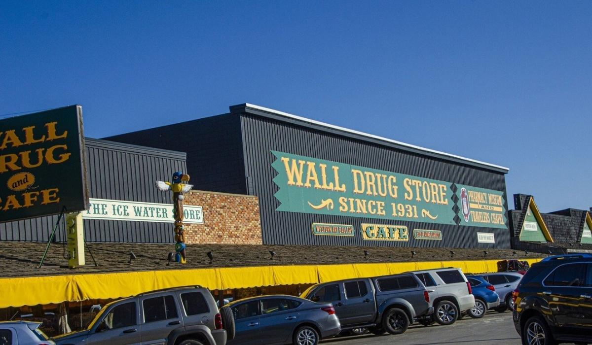 Cửa hàng Wall Drug Store tại bang South Dakota. Nguồn: Getty Images