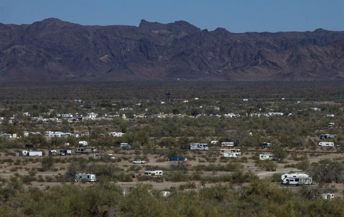 Thị trấn Quartzsite, Arizona. Nguồn: Getty Images