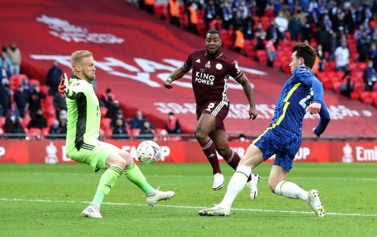 Phút 89, Chelsea đã đưa được bóng vào lưới Leicester City, nhưng sau khi tham khảo công nghệ VAR, trọng tài đã từ chối bàn thắng.