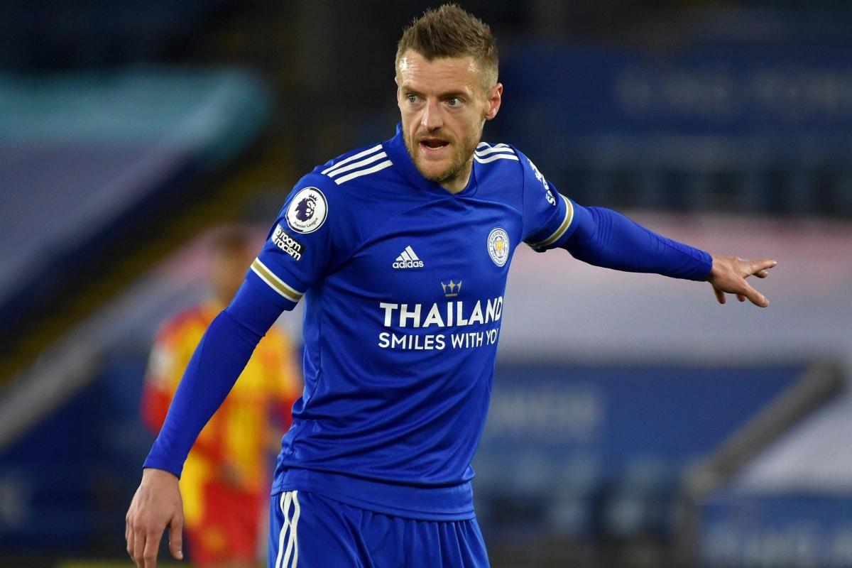 Đồng hạng 8. Jamie Vardy (Leicester) – 13 bàn