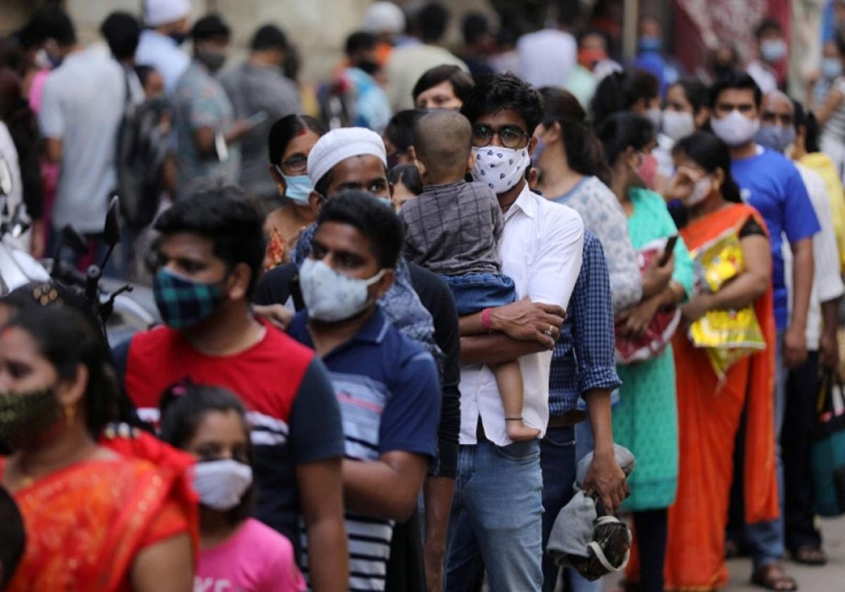 Ấn Độ vẫn tiếp tục là tâm điểm nóng dịch bệnh trên thế giới. Ảnh: Reuters