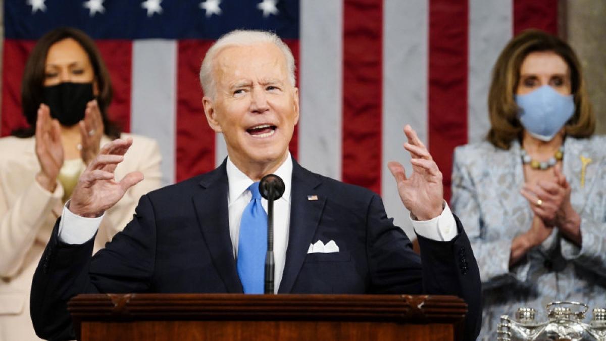 Tổng thống Biden. Ảnh: AP
