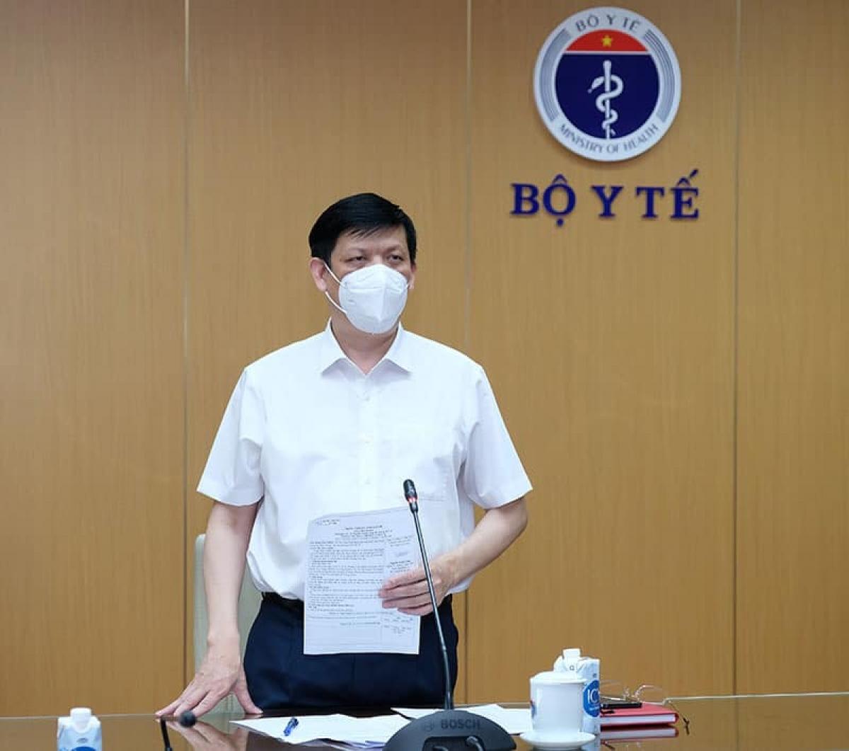 Bộ trưởng Bộ Y tế Nguyễn Thanh Long.