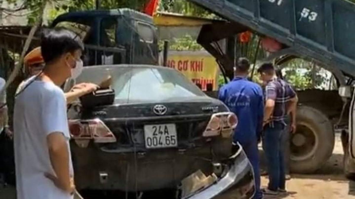 Hiện trường vụ tai nạn (Ảnh: Facebook)