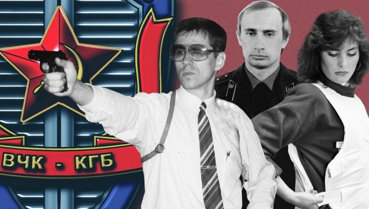 Ảnh ghép minh họa về KGB. Nguồn: Sputnik, Global Look Press, TASS.