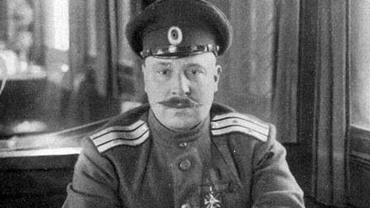 Cựu tướng Bạch vệ Pyotr Semenovich Makhrov; Nguồn: russian7.ru