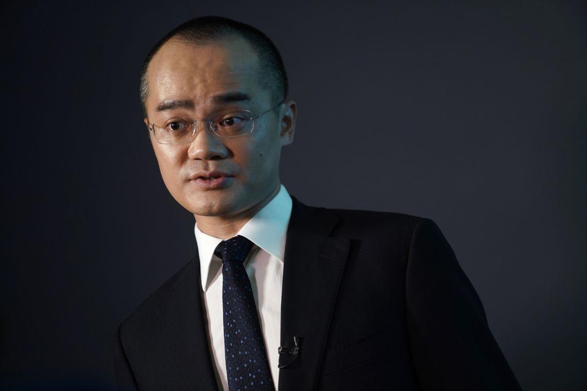 Ông Wang Xing -CEO kiêm nhà sáng lập ứng dụng giao đồ ăn Meituannổi tiếng của Trung Quốc. (Ảnh: Bloomberg)