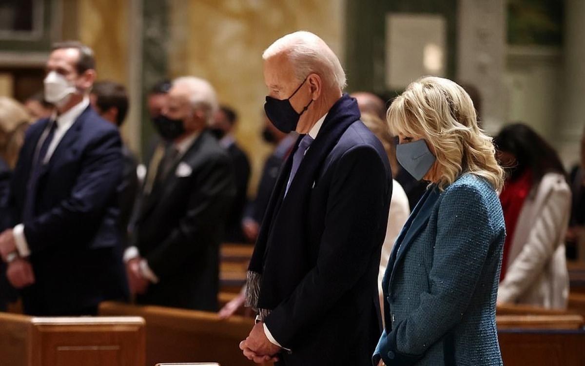 Vợ chồng Tổng thống Mỹ Biden. Ảnh: Getty.