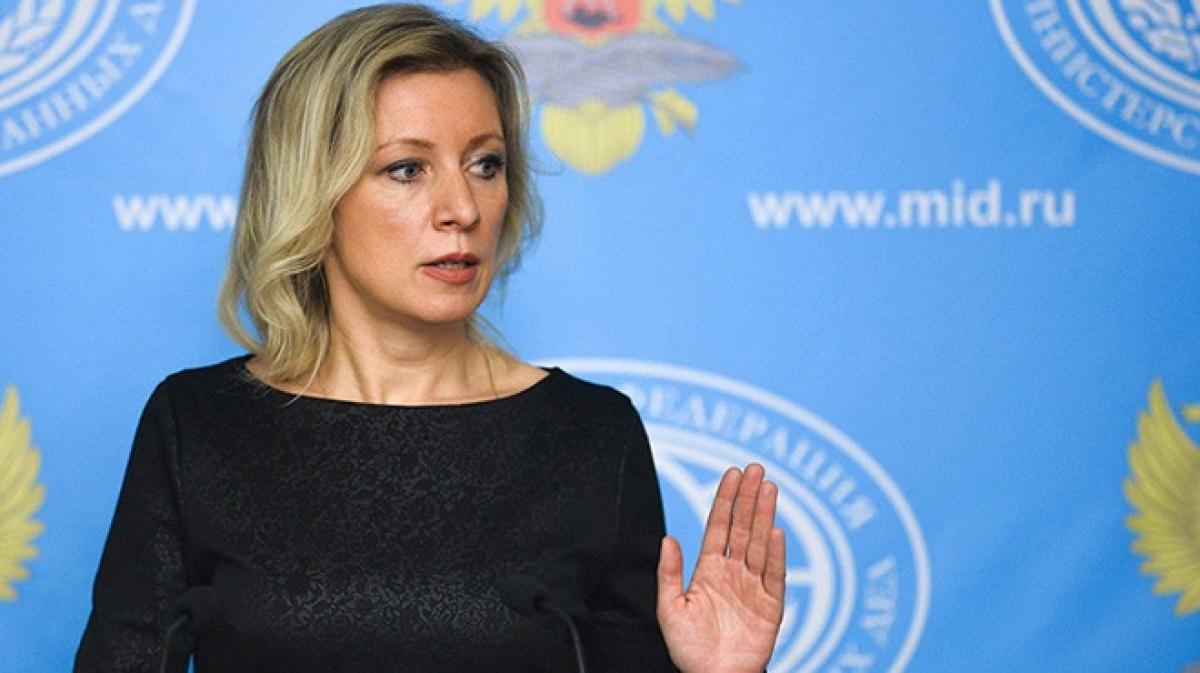 Người phát ngôn Bộ Ngoại giao Nga Maria Zakharova. Ảnh: Reuters
