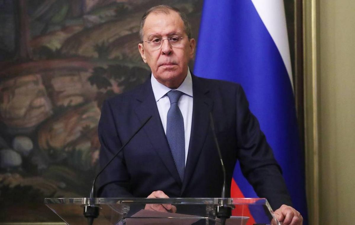 Ngoại trưởng Nga Sergei Lavrov. Ảnh: Tass