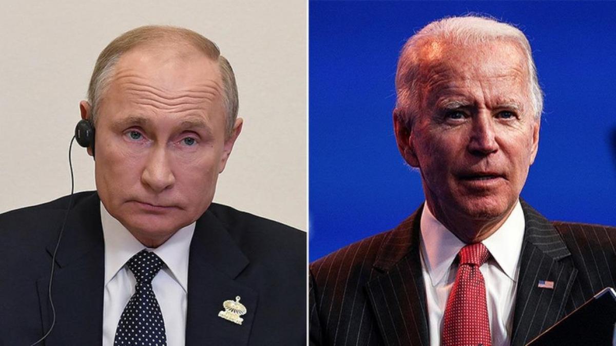 Tổng thống Nga Vladimir Putin và Tổng thống Mỹ Joe Biden. Ảnh: Reuters