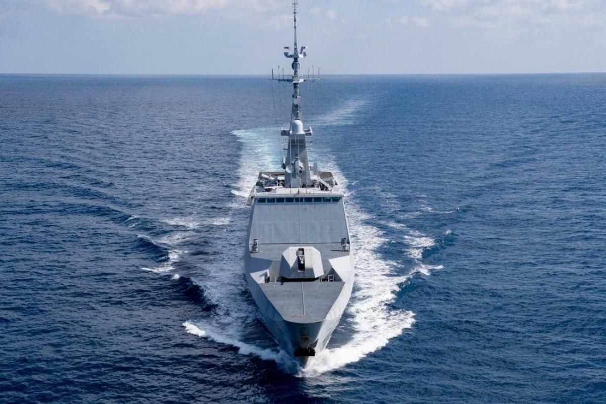 Tàu khu trục Surcouf của Pháp. Ảnh: Twitter