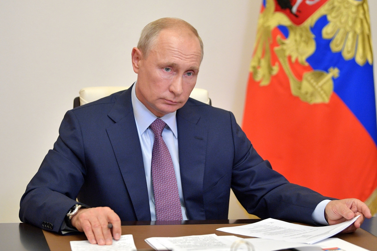 Tổng thống Putin. Ảnh: AFP