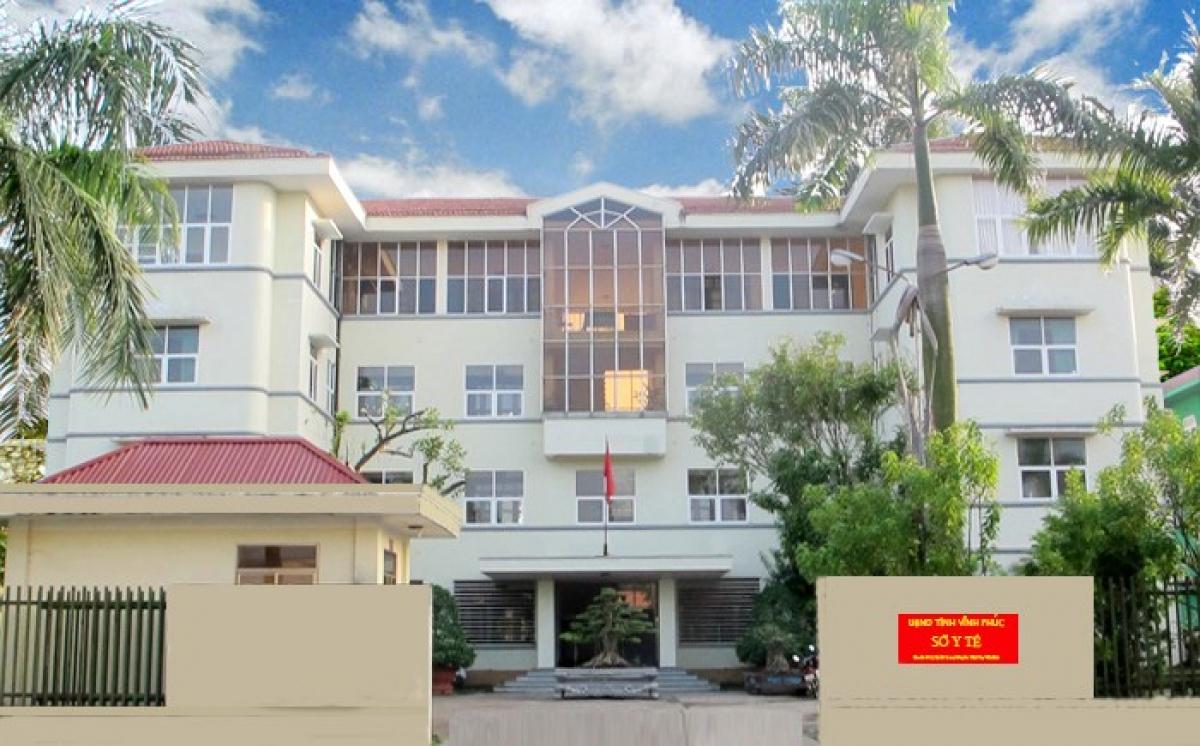 Sở Y tế tỉnh Vĩnh Phúc