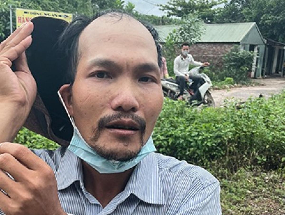 Đối tượng người Trung Quốc bị bắt giữ.