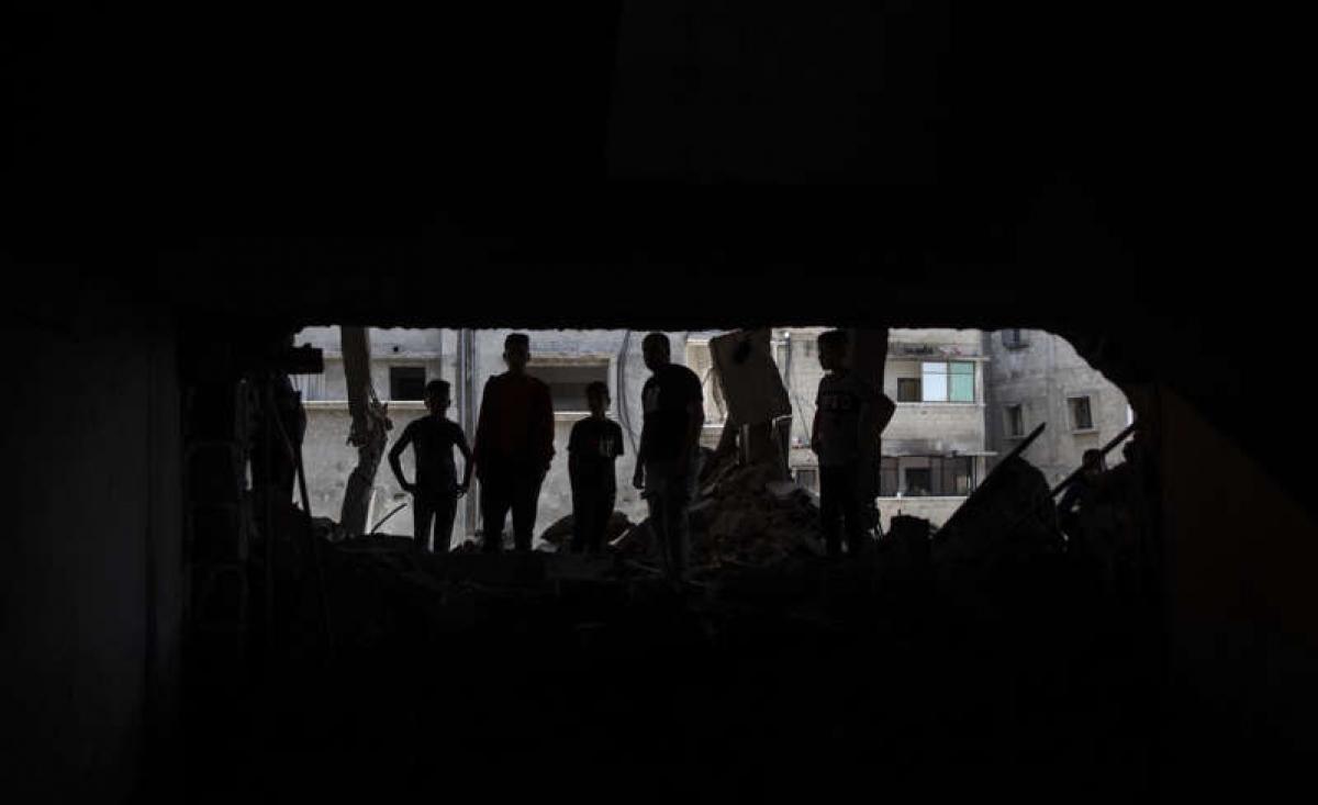 Giao tranh giữa Israel và lực lượng Hamas vẫn chưa có dấu hiệu hạ nhiệt. Ảnh: Washington Examiner