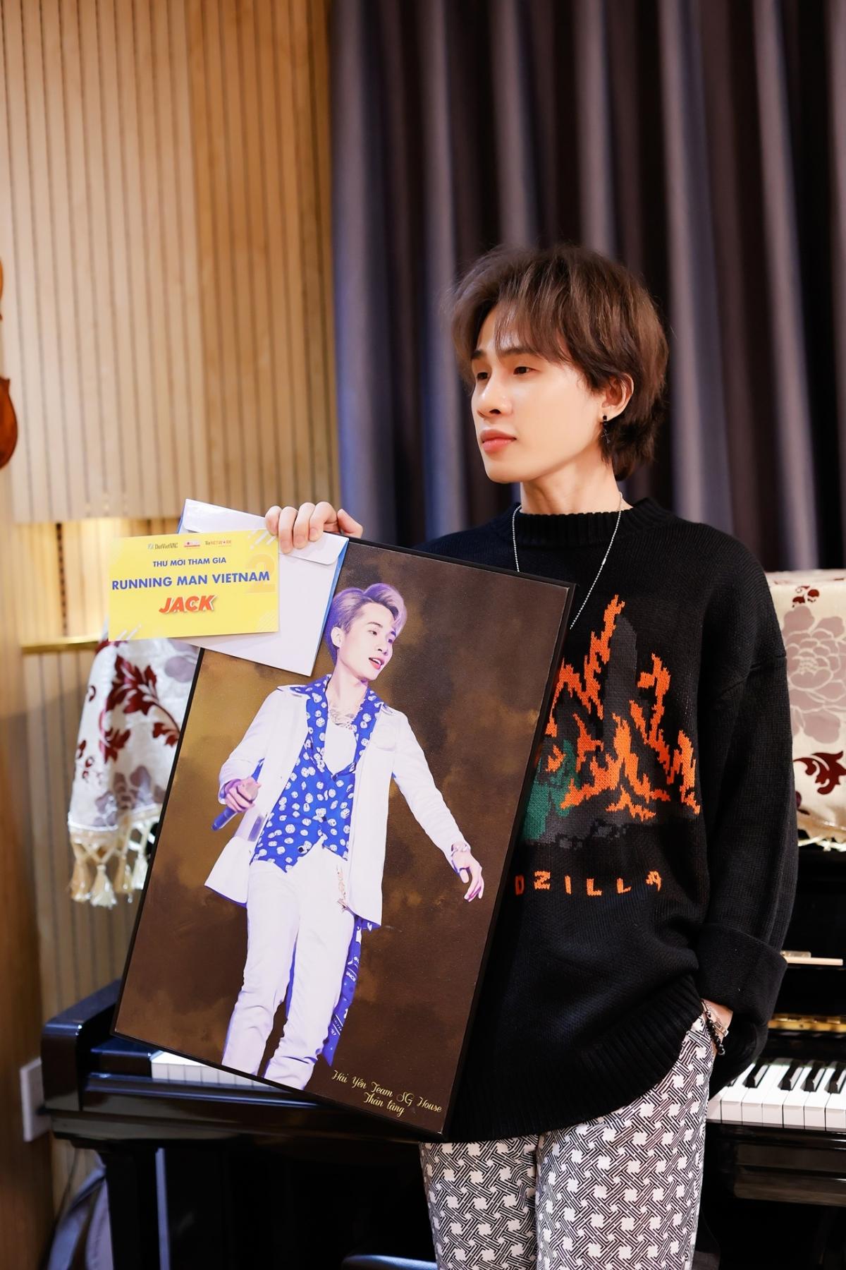 Thành viên cuối cùng của Running Man Vietnam chính thức lộ diện là nam ca sĩ Jack.
