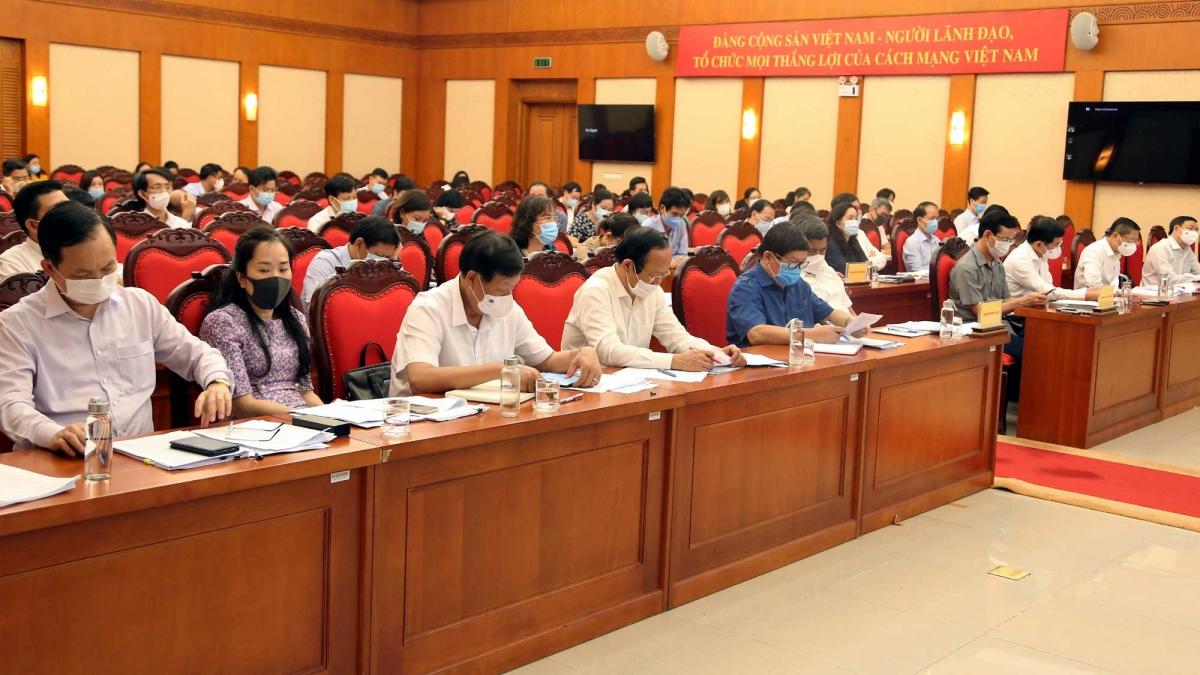 Hội nghị tổng kết 15 năm thực hiện Nghị quyết số 26 Hội nghị Trung ương 7 khóa X về nông nghiệp, nông dân, nông thôn.