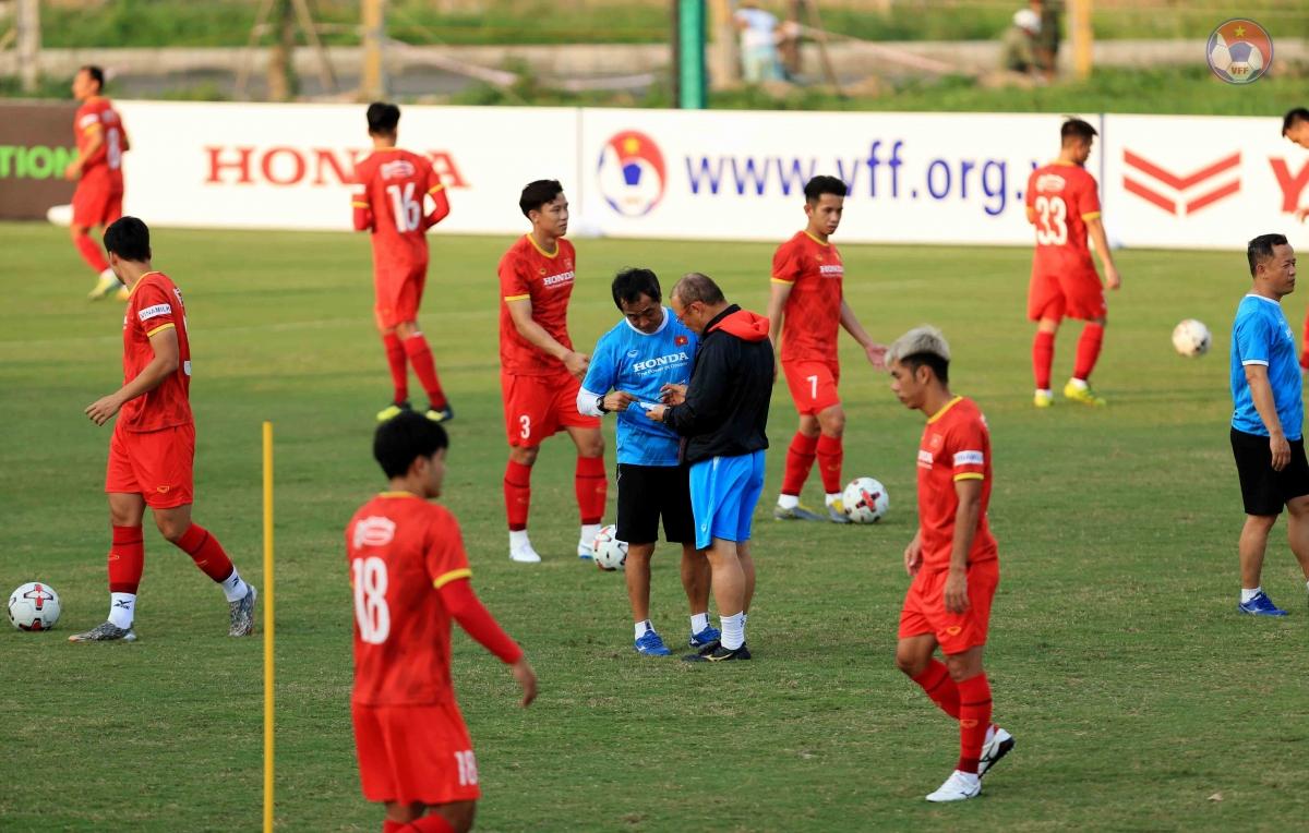 ĐT Việt Nam đang trong giai đoạn tập nặng để chuẩn bị cho vòng loại World Cup 2022.