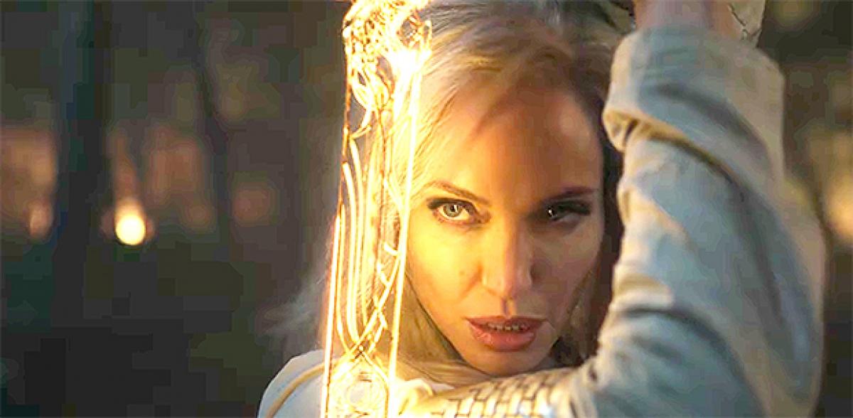 """Bom tấn Marvel """"Eternals""""có sự góp mặt của Angelina Jolie sẽ ra mắt khán giả vào cuối năm nay."""