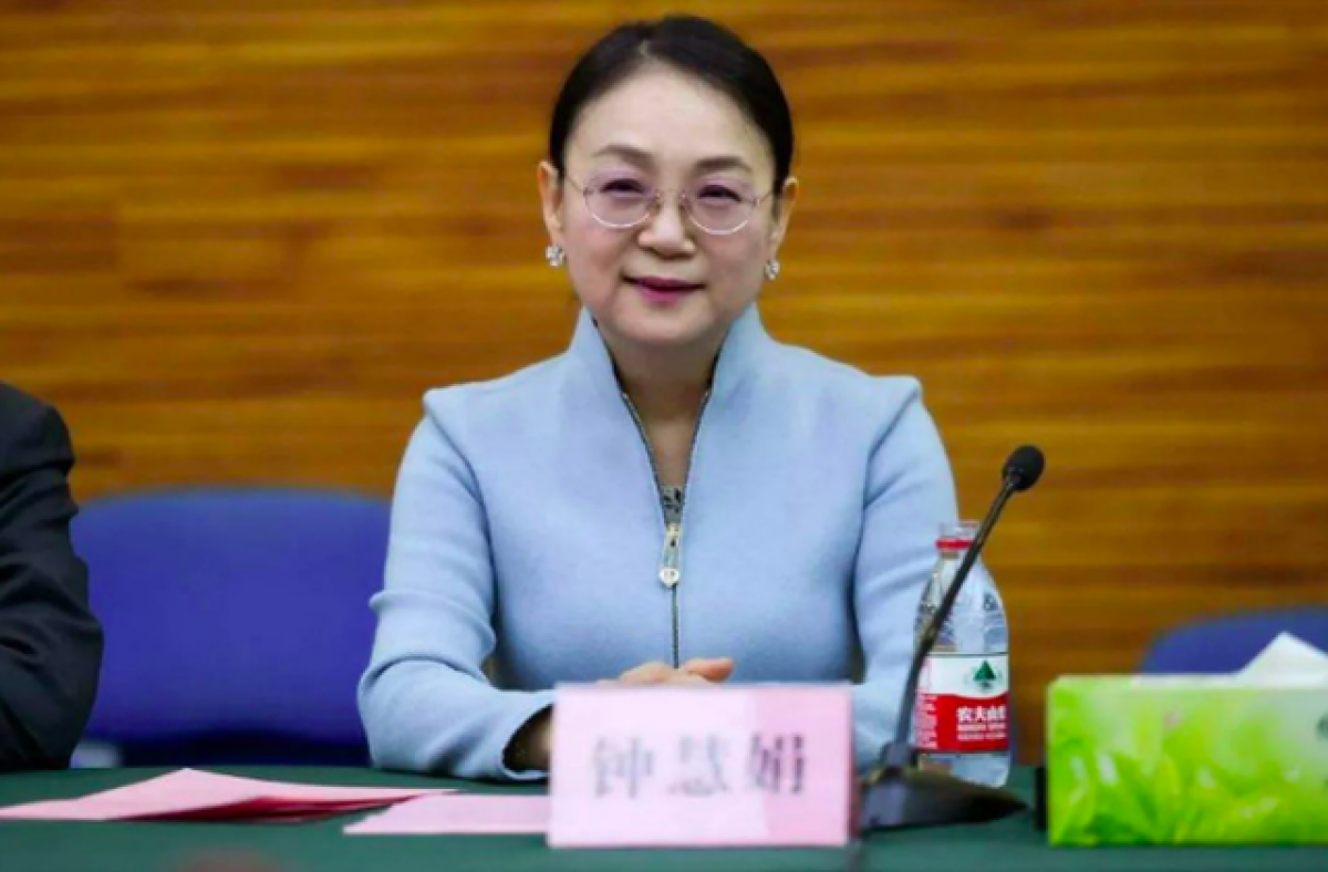 Bà Zhong Huijuan (Ảnh: Twitter)