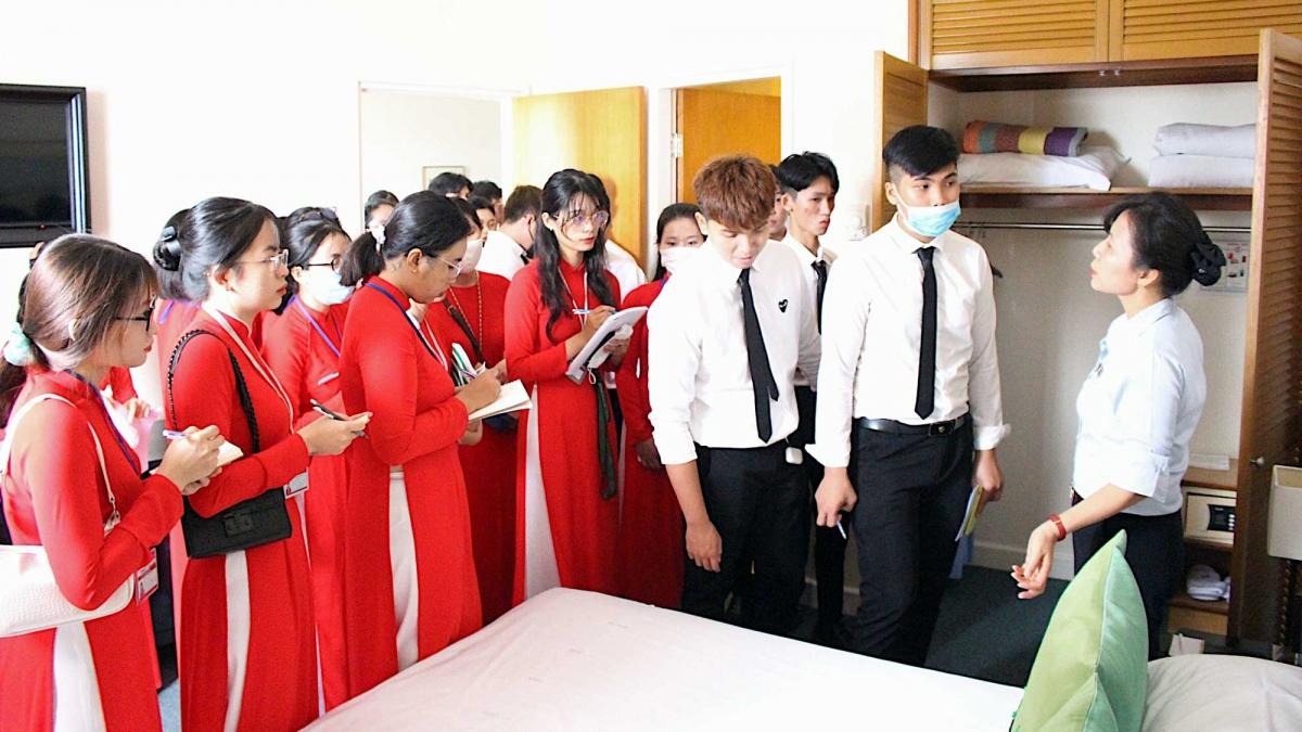 Sinh viên ngành Quản trị khách sạn sẽ được thực tập tại hệ thống khách sạn do NovaGroup vận hành.