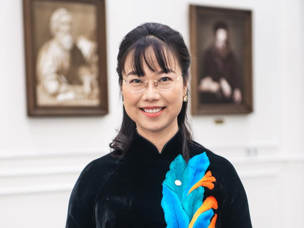 Tiến sĩ Lê Mai Lan, Phó Chủ tịch Tập đoàn Vingroup và Đại diện ủy quyền Quỹ VinFuture
