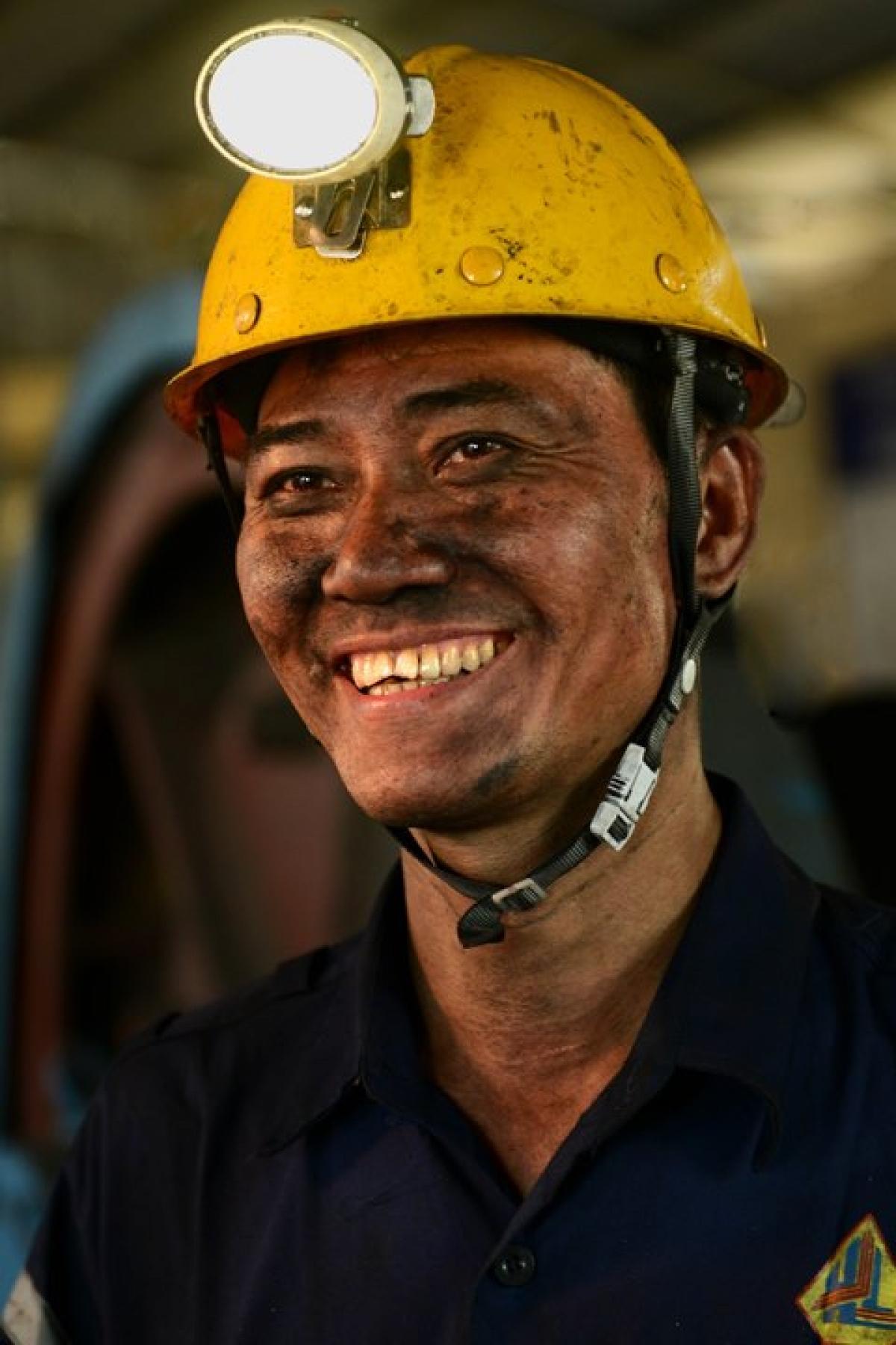 Anh hùng Lao động Nguyễn Trọng Thái- Tổ trưởng sản xuất Công trường kiến thiết cơ bản 1- Công ty Than Hà Lầm.