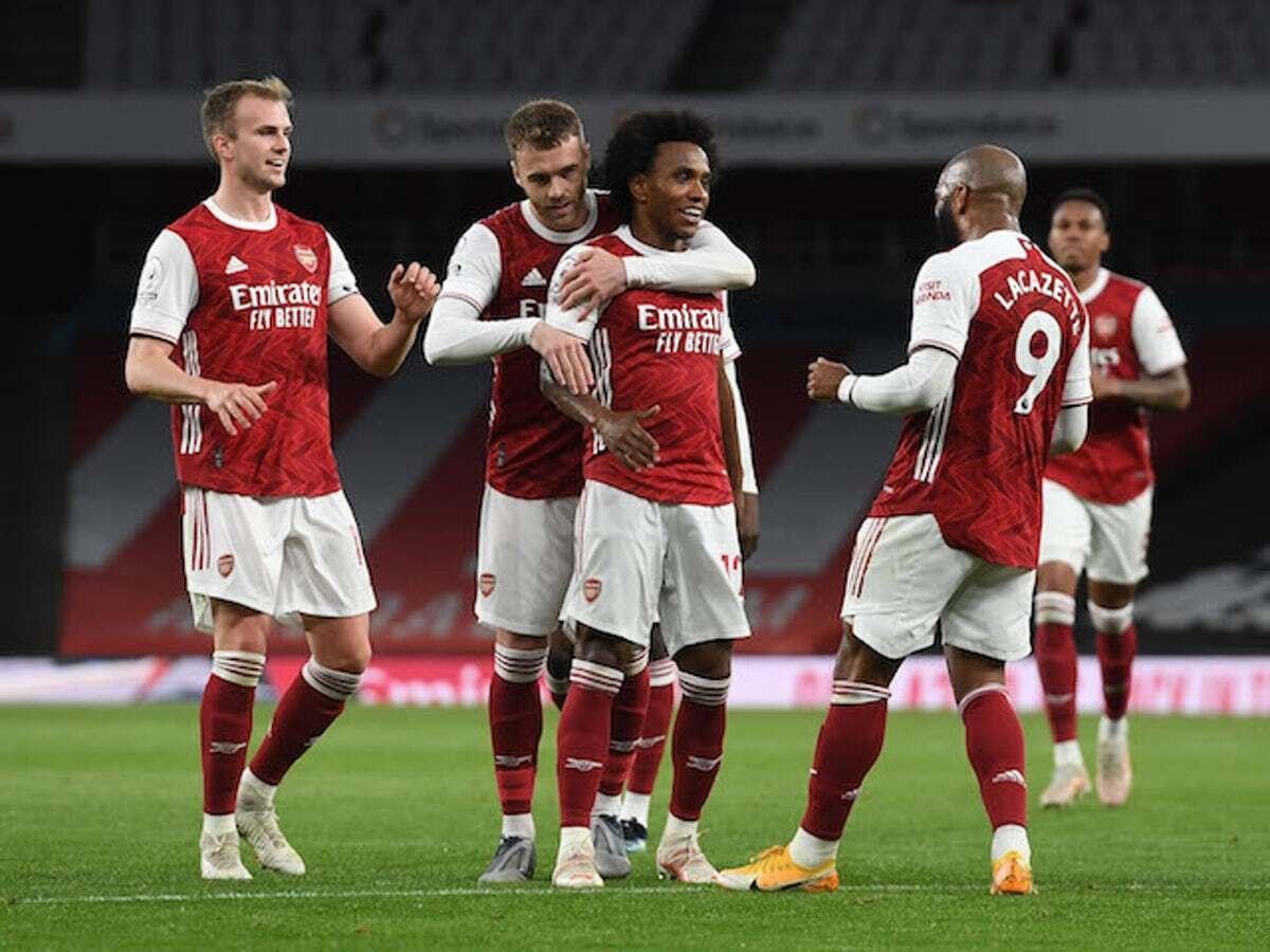 Arsenal vẫn còn cơ hội dự Cúp châu Âu mùa giải tới. (Ảnh: Getty).