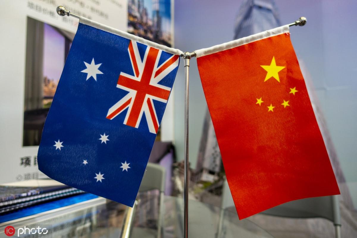 """Nguy cơ quan hệ Trung Quốc-Australia sẽ """"chạm đáy"""". Ảnh: IC Photo"""