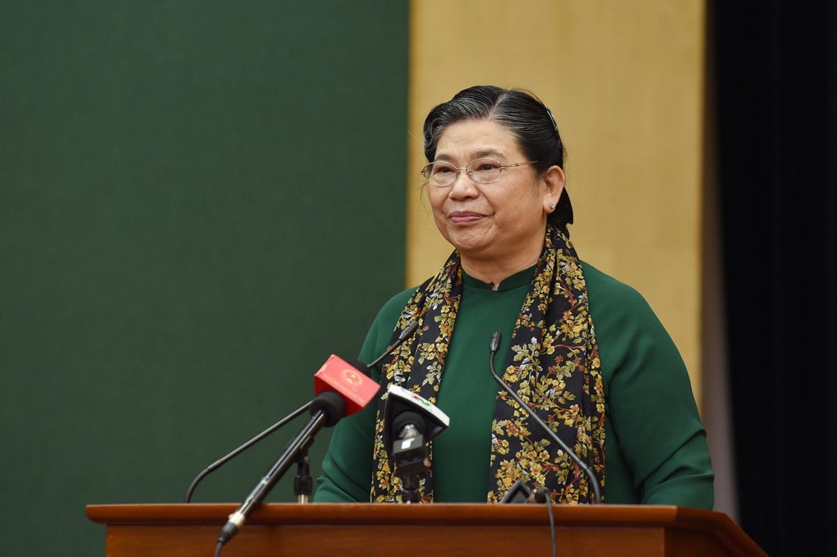 Bà Tòng Thị Phóng - nguyên Phó Chủ tịch Thường trực Quốc hội