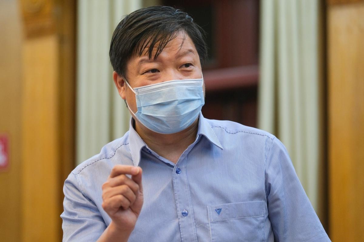 PGS.TS Trần Như Dương, Phó viện trưởng Viện vệ sinh Dịch tễ Trung ương. (Ảnh: Bộ Y tế)