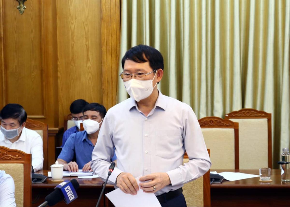 Chủ tịch UBND tỉnh Bắc Giang Lê Ánh Dương phát biểu ý kiến. (Ảnh: Đức Duy)