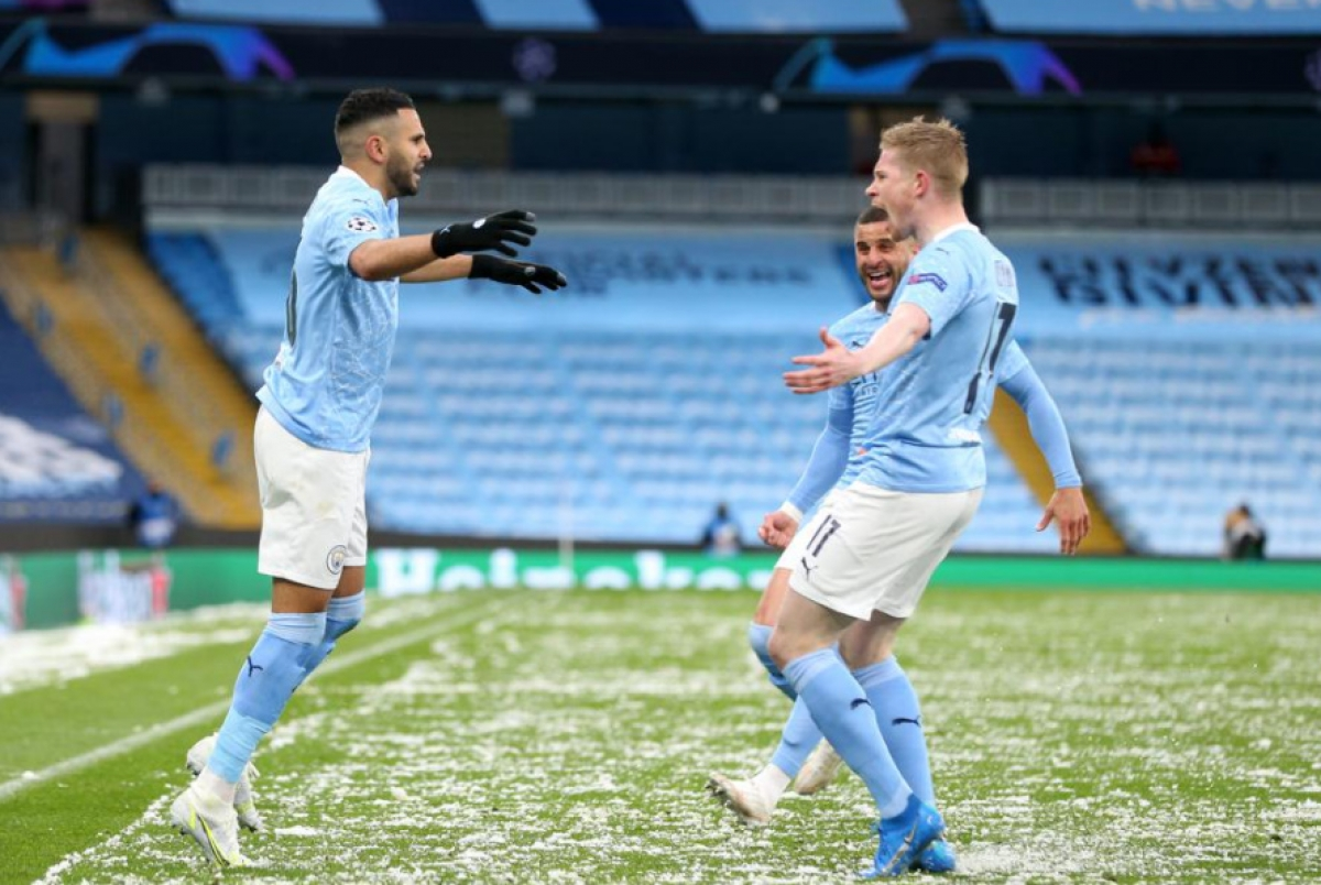 Trận bán kết lượt về khép lại với tỷ số 2-0 cho Man City.Đại diện nước Anh tiến bước vào chung kết với chiến thắng 4-1 chung cuộc. Đây là lần đầu tiên trong lịch sử, Man City góp mặt ở trận chung kết của Champions League./.